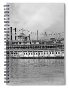 New Orleans Steamboat Spiral Notebook