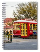 New Orleans Streetcar Spiral Notebook