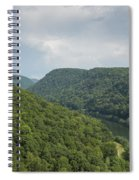 New River Scene 13 B Spiral Notebook