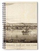 New York City, 1840 Spiral Notebook