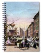 New York City, C1820 Spiral Notebook