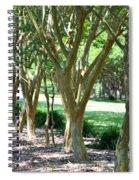 Norfolk Botanical Garden 6 Spiral Notebook