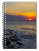 North Wildwood Sunrise Spiral Notebook