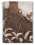 Nut Maze Spiral Notebook