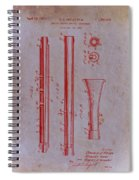 Oboe Patent 1931 Spiral Notebook