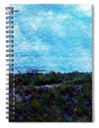 Ocean As A Painting Spiral Notebook