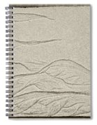 Ocean Sand Art Spiral Notebook