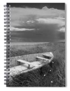 Of Land Sea And Sky Spiral Notebook