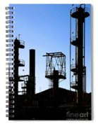 Oil Refinery Spiral Notebook