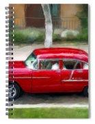 Red Bel Air Spiral Notebook