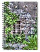 Old City Jail Window Spiral Notebook