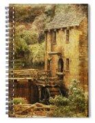 Old Mill In Arkansas Spiral Notebook