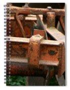 Old Mowing Machine Spiral Notebook