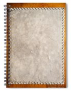 Old Paper Texture Spiral Notebook
