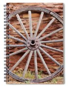 Old Wagon Wheel 2 Spiral Notebook