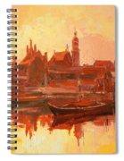 Old Warsaw - Wisla River Spiral Notebook