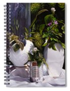 Ombre Belle Spiral Notebook
