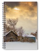 On A Winter Day Spiral Notebook