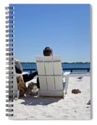 On The Waterfront Spiral Notebook