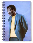 Otis Redding Painting Spiral Notebook