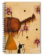Painting Flowers Spiral Notebook