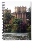 Palace Of Fine Arts 9 Spiral Notebook