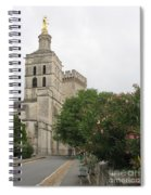 Palace Of The Pope - Avignon Spiral Notebook