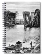 Panama Canal French Work Spiral Notebook