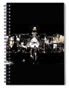 Pancho Villa With Cross Thatched Bandolier Rebel Camp No Locale Or Date-2013 Spiral Notebook