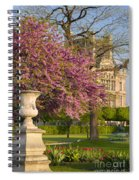 Paris Springtime Spiral Notebook