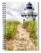 Path To The Beach Spiral Notebook