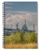 Patriots Point Maritime Spiral Notebook
