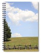 Peace At Manassas Spiral Notebook