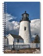 Pemaquid Point Lighthouse 4897 Spiral Notebook
