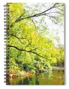 Pennsylvania Autumn Pennypack Creek Philadelphia Pennsylvania Spiral Notebook