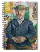 Pere Tanguy Spiral Notebook