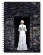 Period Lady Spiral Notebook