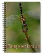2 Peter 3 Verse 15 Spiral Notebook
