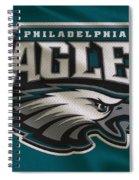 Philadelphia Eagles Uniform Spiral Notebook