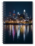 Philadelphia Reflections Spiral Notebook