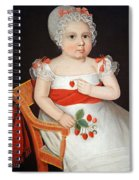 Phillips' The Strawberry Girl Spiral Notebook