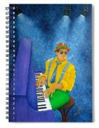 Piano Man Spiral Notebook