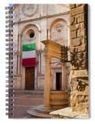 Pienza Tuscany Spiral Notebook