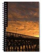 Pier Myrtle Beach Sc Spiral Notebook