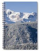 Pikes Peak Snow Spiral Notebook