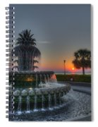 Pineapple Sunrise Spiral Notebook