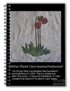 Pitcher Plant Spiral Notebook