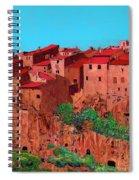 Pitigliano Village Spiral Notebook