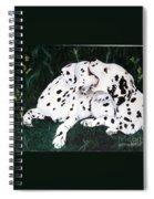 Playful Pups Spiral Notebook