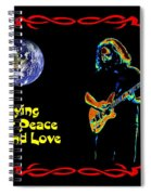 Playing For Peace And Love 1 Spiral Notebook